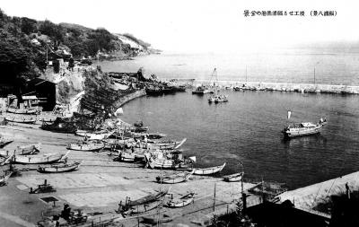 福浦港全景