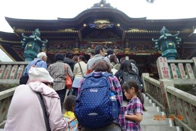 三峰神社拝殿階段