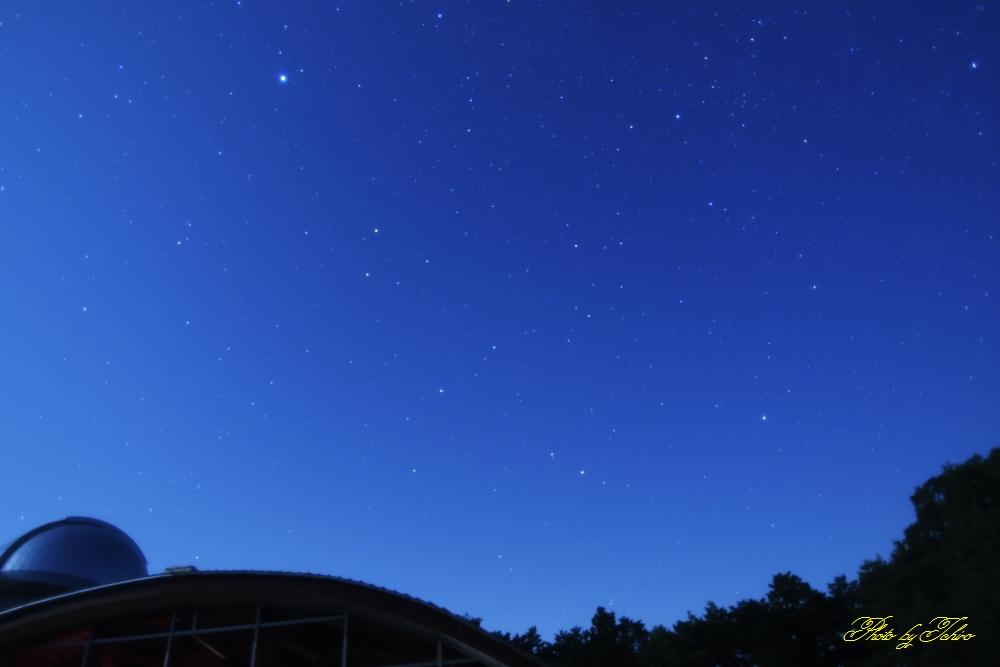 美里天文台にて