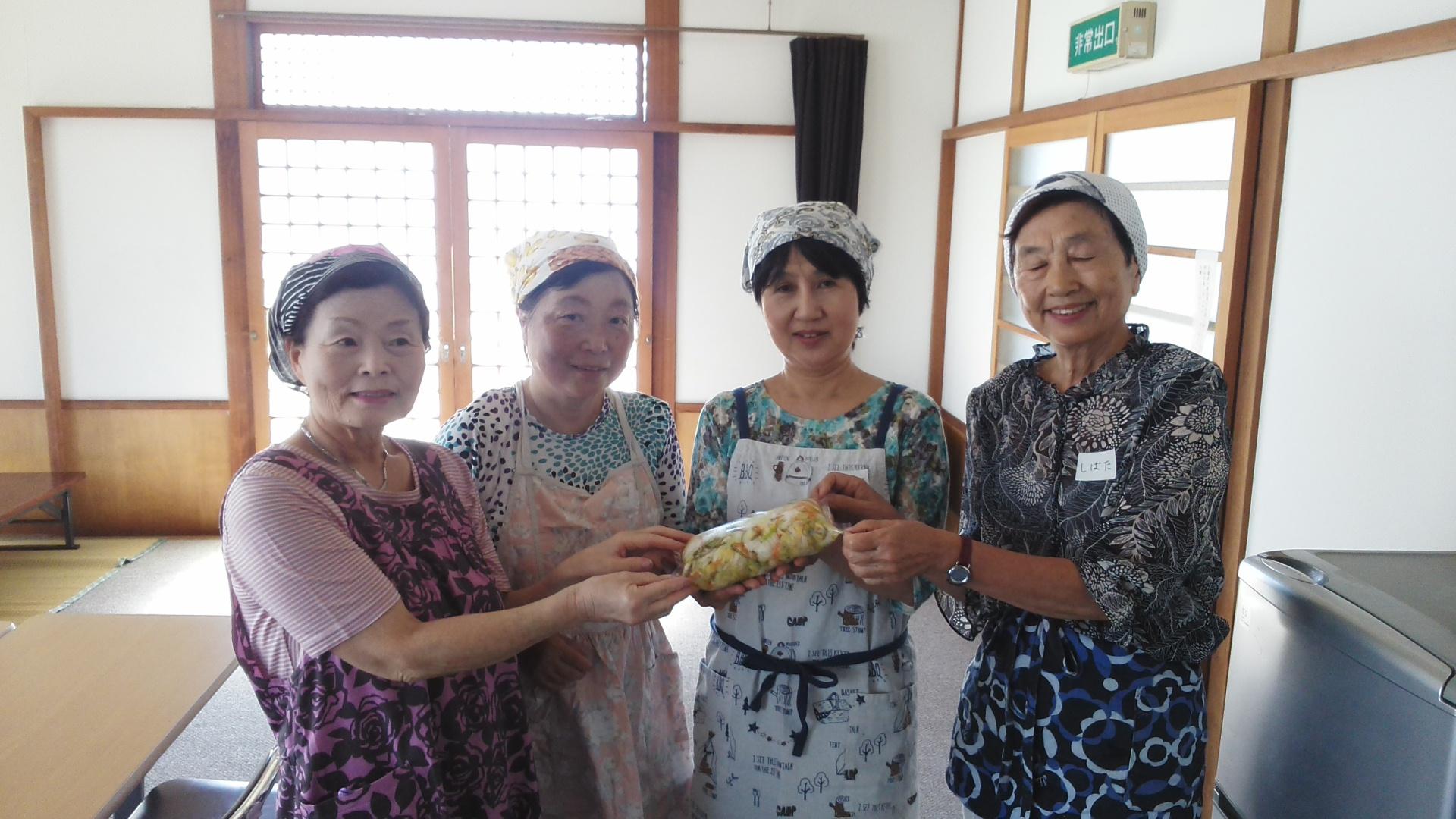 静岡市子ども食堂ネットワーク 季咲亭様よりお漬け物のご寄付
