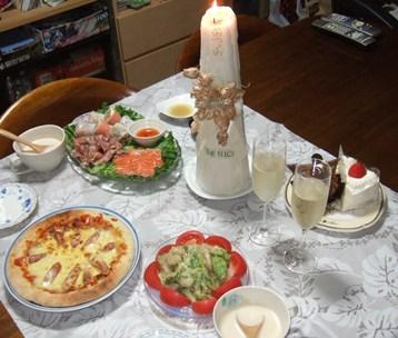 7/21 結婚記念日(銀婚式)