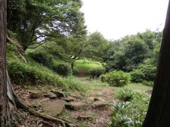 7/18 一夜城・本丸への道