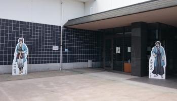 薄桜鬼刀剣展パネル(土方&沖田)