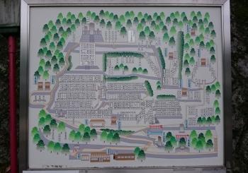 京都霊山護国神社マップ