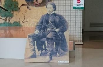 土方歳三パネル(ザ・刀剣展)