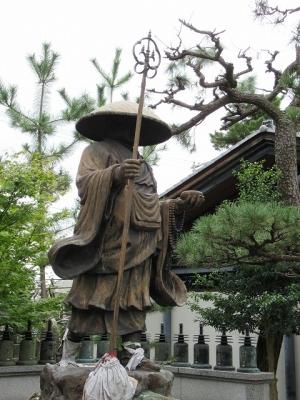 葛井寺・弘法大師修行像
