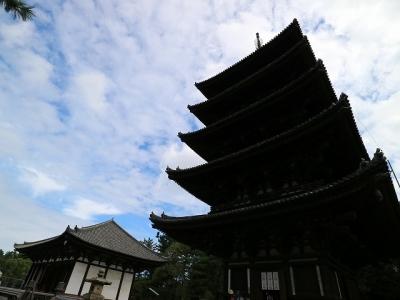 興福寺・五重塔と東金堂