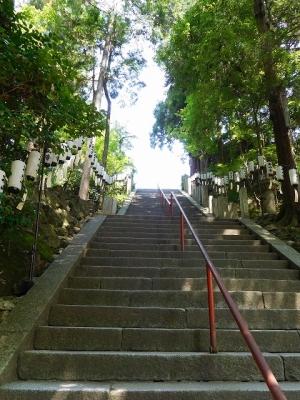 石山寺・石段