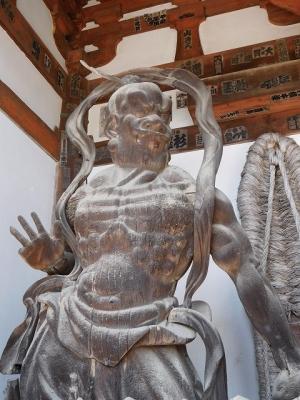 石山寺・金剛力士像(吽形像)