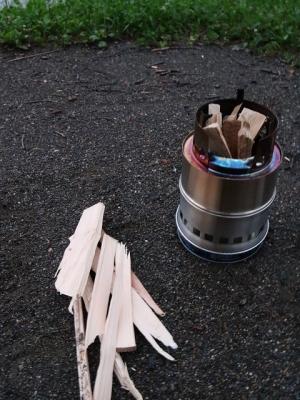 薪とストーブ