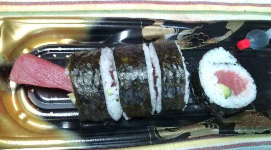 業務用スーパの寿司