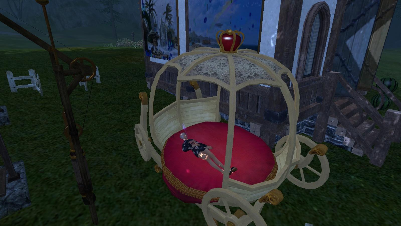 フレの家で勝手に寝る
