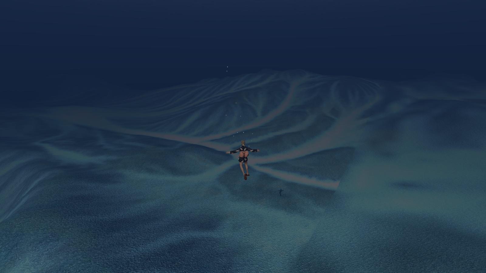 海底の模様