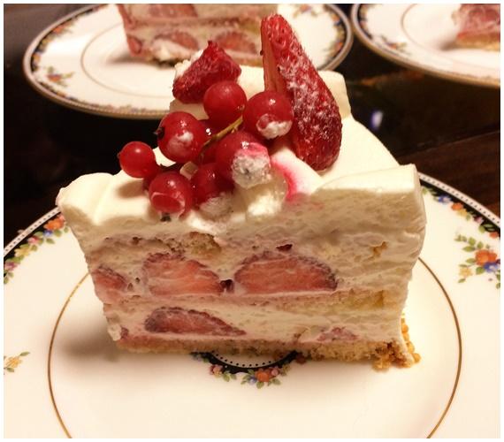 エーグルのショートケーキ