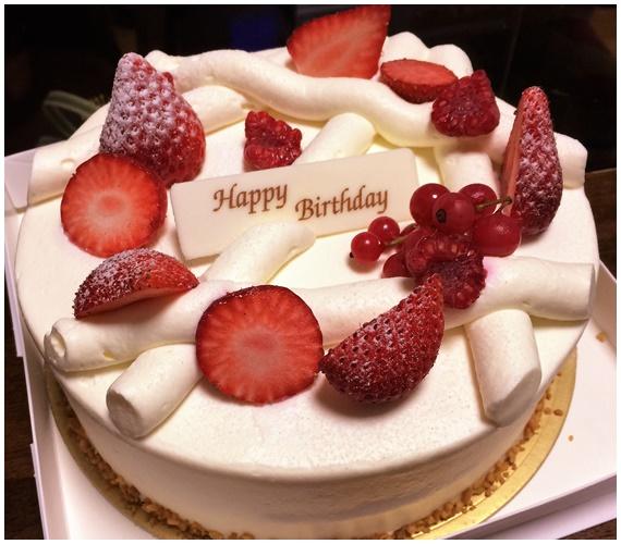 ママ誕生日ケーキ