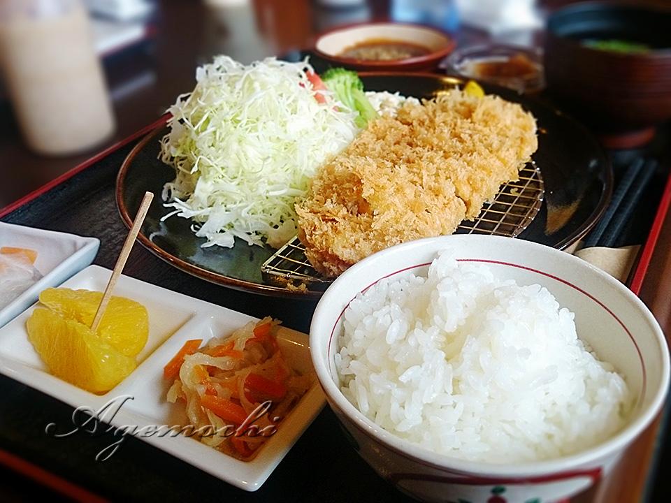 神話豚ロースカツ定食