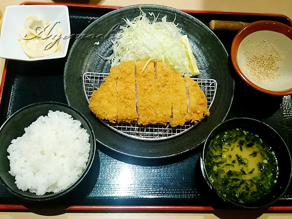 ロースかつ膳(150g)
