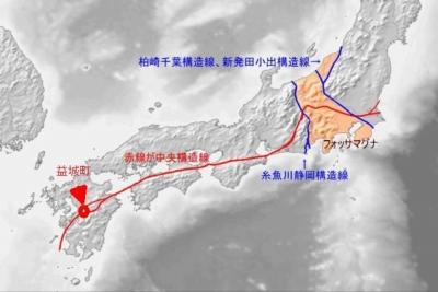 中央構造線 熊本