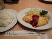 神田錦町 ふくのや オムレツ(2016/4/13)