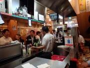 大井町 晩杯屋 ゼームス坂上店 店内満席、あ、立ち飲みに席はない!(笑)(2016/6/15)