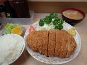 大井町 丸八とんかつ 支店 とんかつ定食(2016/5/24)