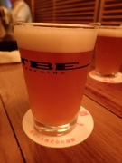 恵比寿 TBE BREWING あくらビールさんの「あきた吟醸ビール」(2016/9/14)