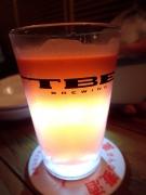 恵比寿 TBE BREWING 城端麦酒さんの「ブラッドオレンジ」(2016/9/14)