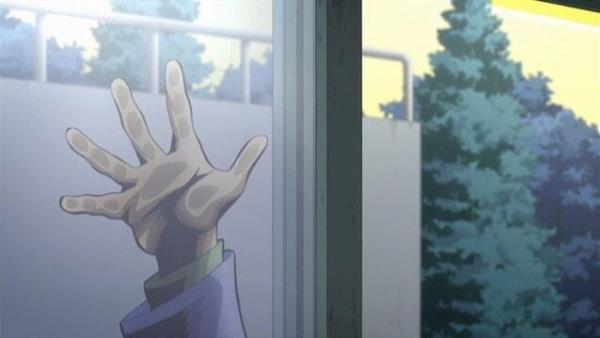 【ジョジョの奇妙な冒険 第4部】原作じゃ手袋はめてたのにアニメは忘れてるな…【画像あり】
