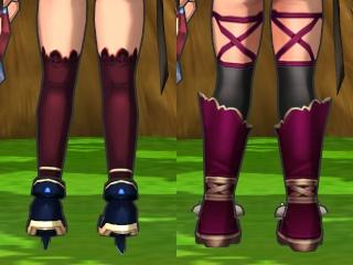 脚(の太さ)の比較