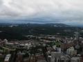 窓外の青葉山