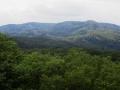 青葉山から蕃山の眺め