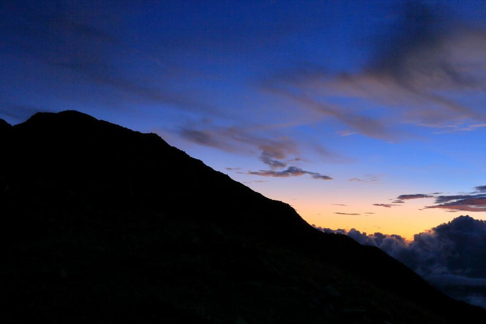 宵星と北岳