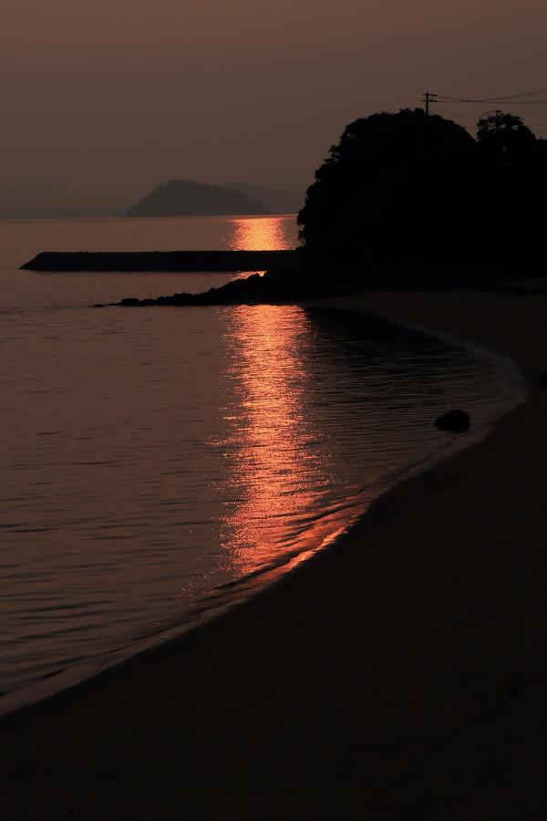 朝陽の揺らめき