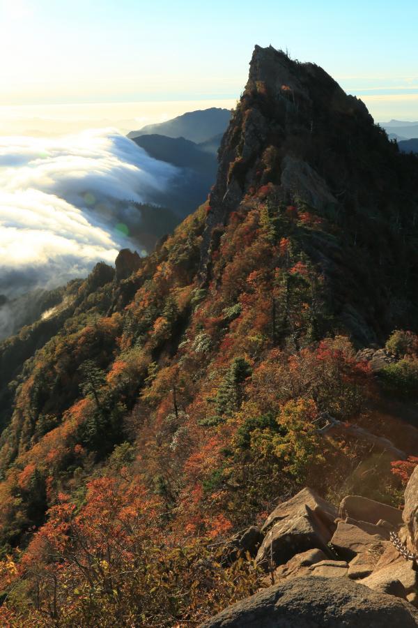 秋の天狗岳
