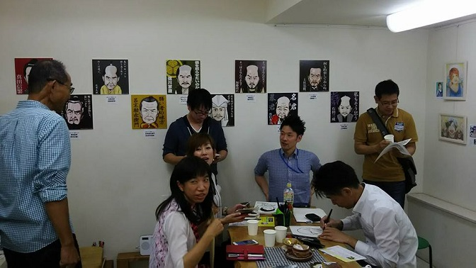 夢画廊 似顔絵展 (2)