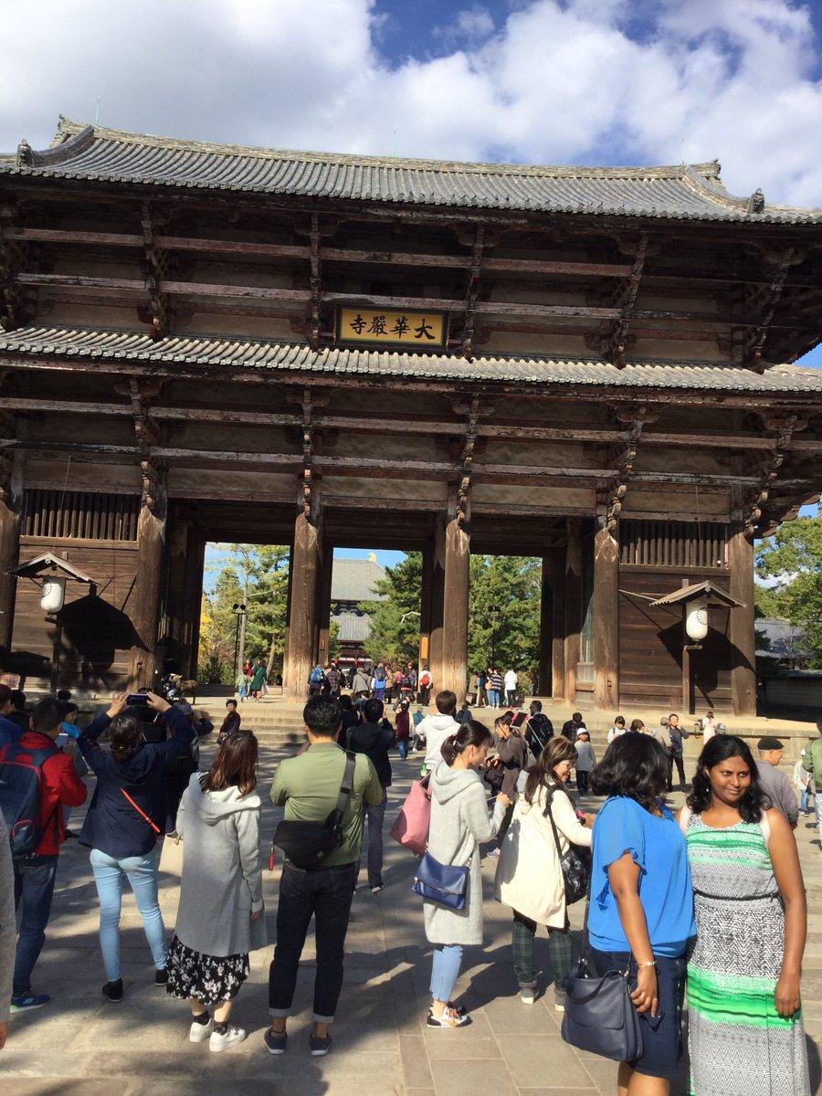 【遭遇情報】なにわ男子と関西ジャニーズJr.が奈良県の東大寺でロケ。『まいジャニ』新春SPの収録か?