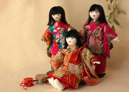 私作の人形