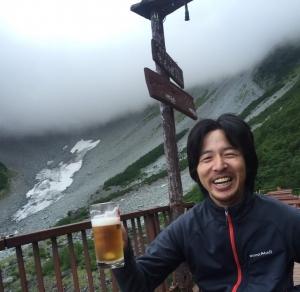 涸沢小屋 ビール