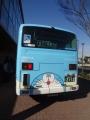 バス 後部