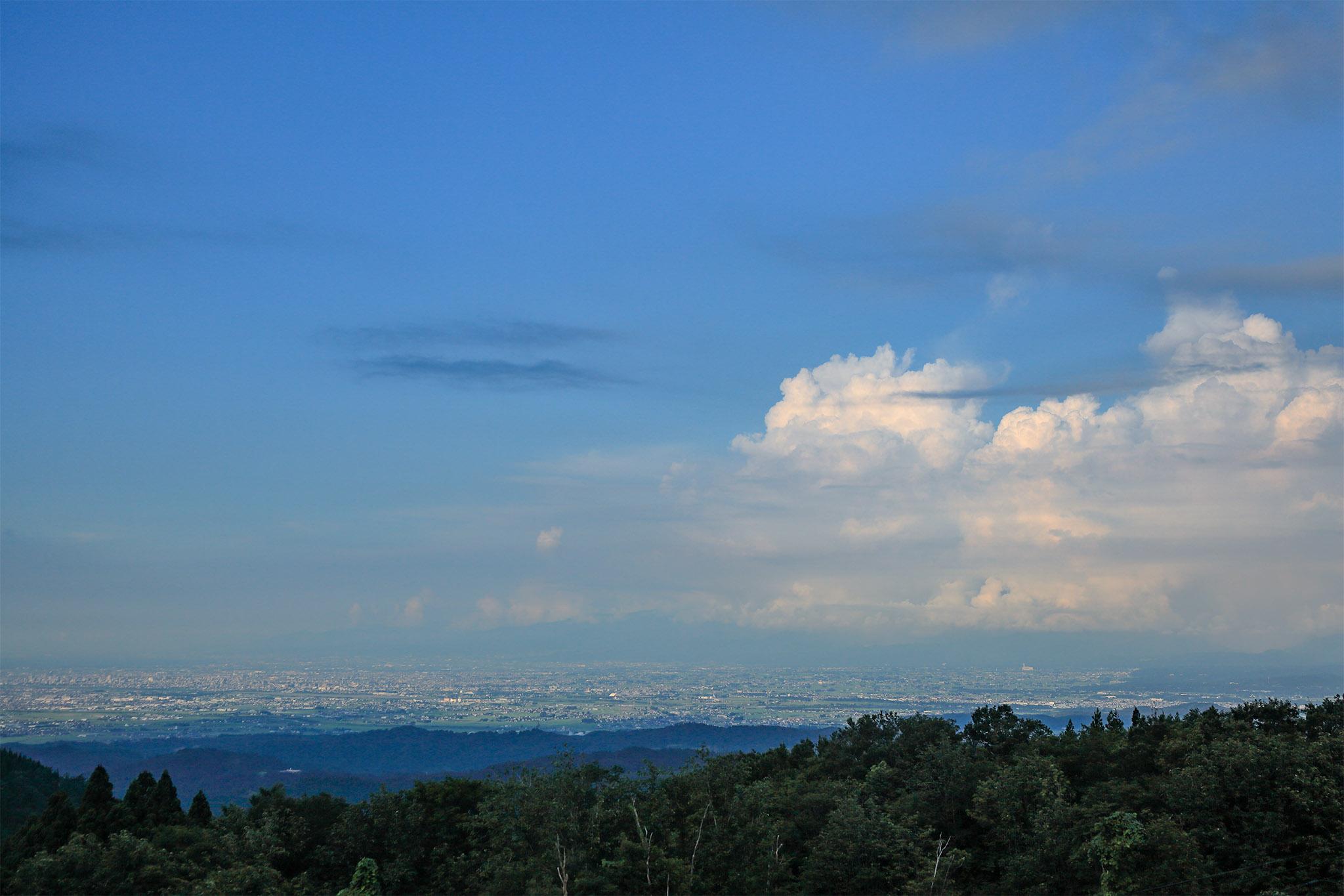 牛岳からの眺望(昼)