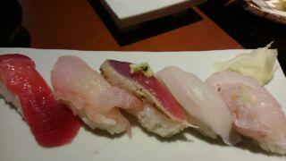 茄子の花寿司
