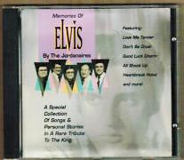 THE JORDANAIRES Memories of Elvis CD 1993