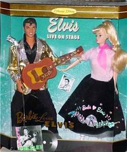 Elvis Presley and Barbie Doll set