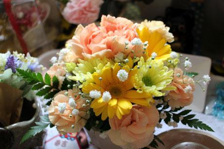 お花を頂いたよ
