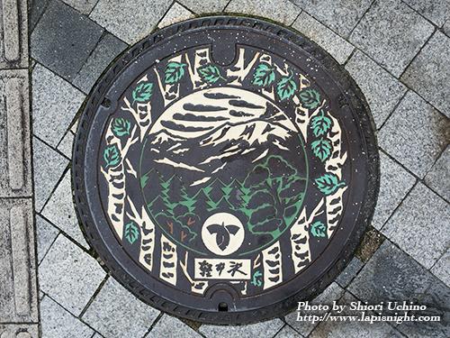 【長野県 軽井沢町 マンホール -白樺-】
