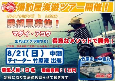 海遊び募集告知1608211