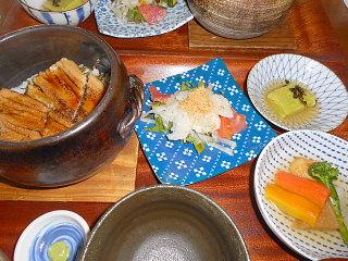 煮穴子の石窯ご飯