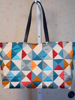 幾何学模様バッグ2