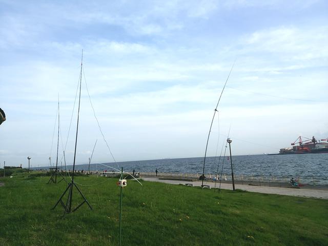 2016年4月9日 東扇島西公園でDX(1)