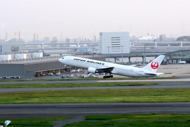 羽田空港で撮影した飛行機(4)